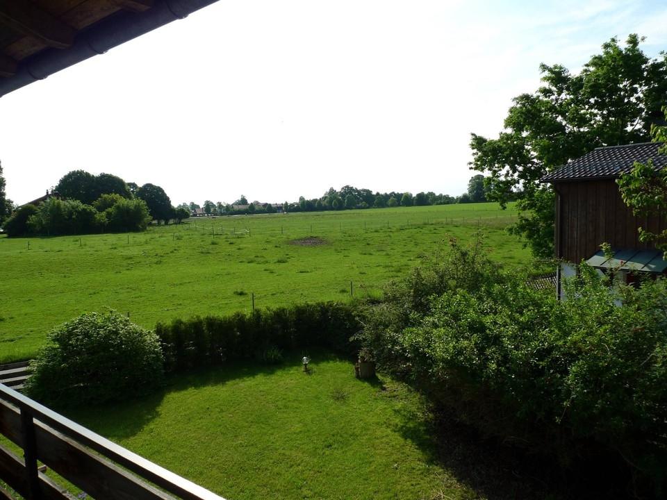 Ausblick vom Nachbarhaus