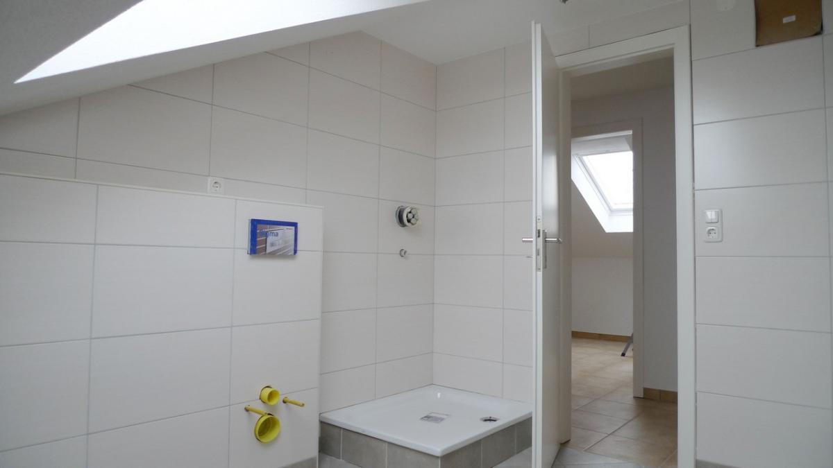 Helles Bad mit Dusche