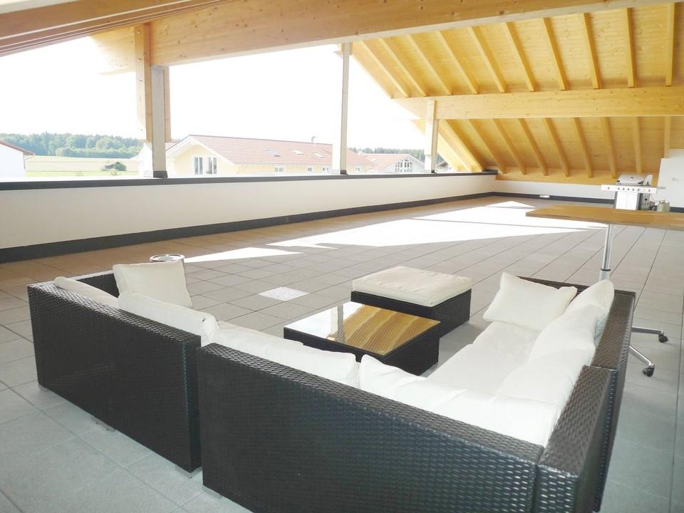 Dachterrasse - gemeinschaftll